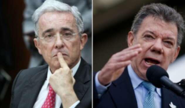 Uribe y Santos, una pelea de no acabar.