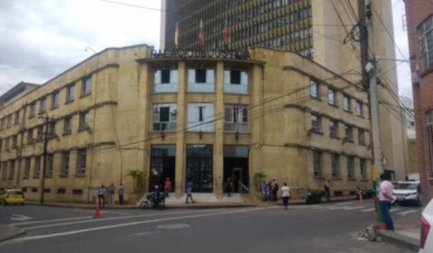 Los uniformados fueron presentados ante las autoridades en el Palacio de Justicia de Ibagué.