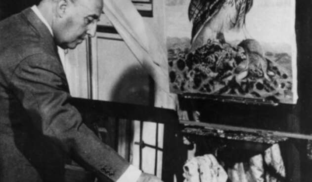 Dictador Francisco Franco, en una fotografía tonada el 14 de octubre de 1959 en Madrid