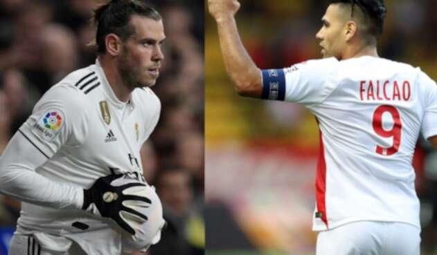 Gareth Bale y Radamel Falcao abandonarían a su respectivo equipo