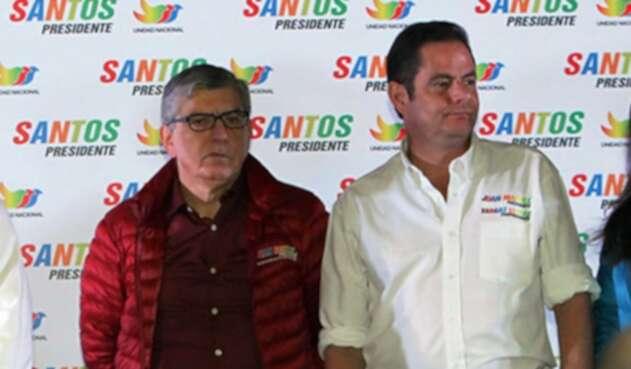 César Gaviria y Germán Vargas Lleras
