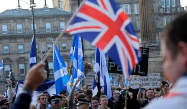Glasgow, en Escocia, cuando se adelantó campaña por el referendo