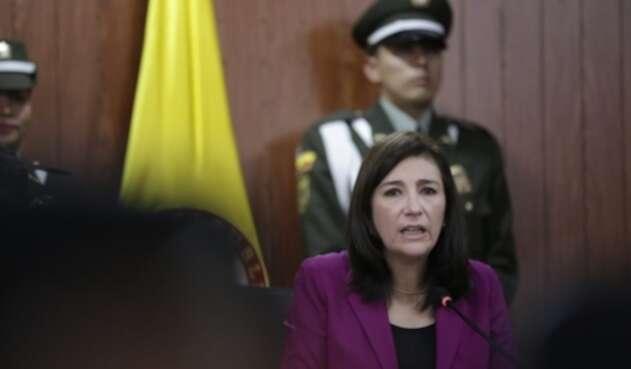 Gloria Ortíz, presidenta de la Corte Constitucional