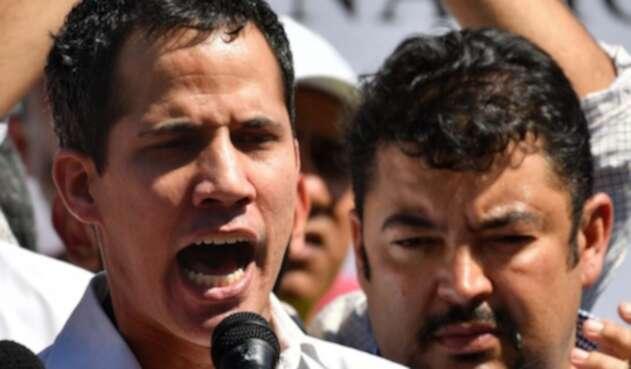Juan Guaidó y Roberto Marrero