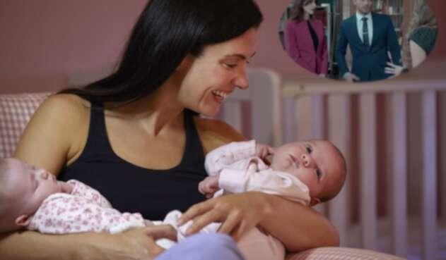 la fecundación Heteropaternal se caracteriza por un embarazo de mellizos de diferentes padres.