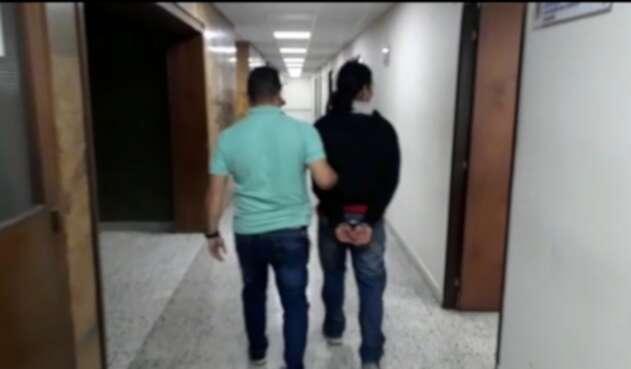 Hincha capturado por agresión a un aficionado de Nacional.