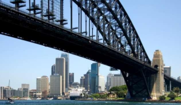 Puente del puerto de Sídney, en Australia