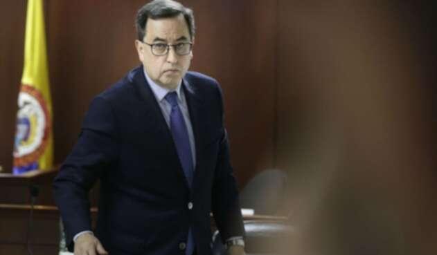 El expresidente de Corficolombiana, José Elías Melo.