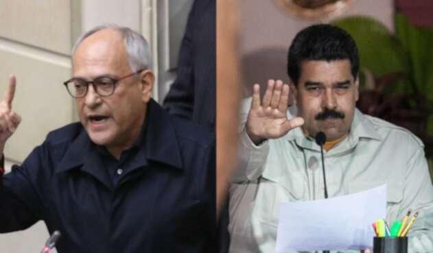 José Obdulio Gaviria y Nicolás Maduro (2)