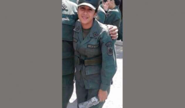 Katiuska Jamboos Reyes, primer teniente de la Guardia Bolivariana de Venezuela
