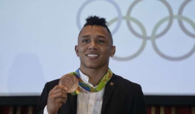 Luis Javier Mosquera, medallista olímpico colombiano