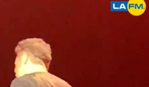 Luis Miguel durante su concierto en Panamá