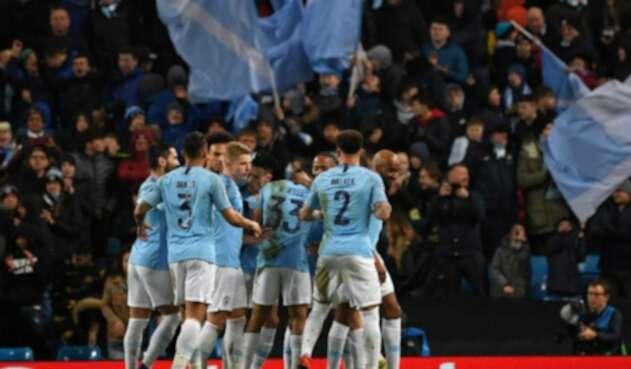 Manchester City goleó al Schalke 04 de Alemania