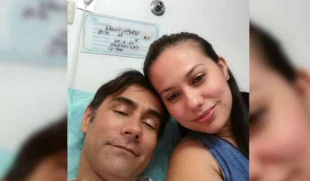 Mauro Urquijo y su ex esposa Haychelt Benito