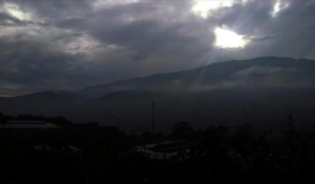 Contaminación en Medellín.