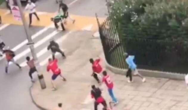 Hinchas del Medellín y Nacional