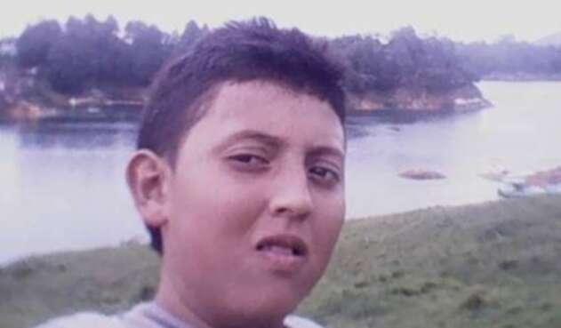 Julián Velásquez, el niño secuestrado en Bello (Antioquia)