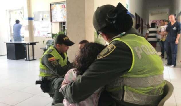 Las autoridades encontraron a los menores en estado de abandono