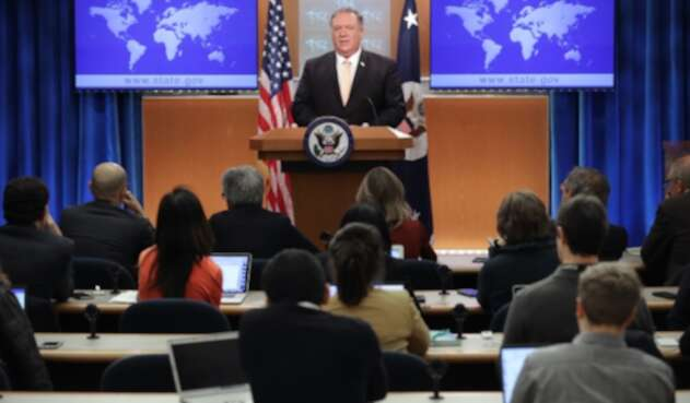 Mike Pompeo, secretario de Estado de Estados Unidos, en Washington