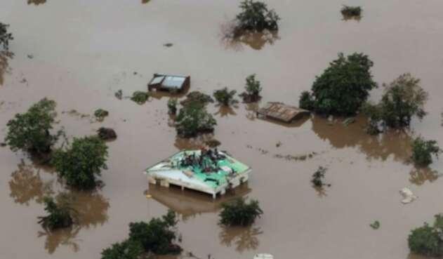 Ciclón en Mozambique