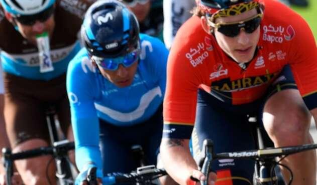 Nairo Quintana en la tercera etapa de la París-Niza 2019