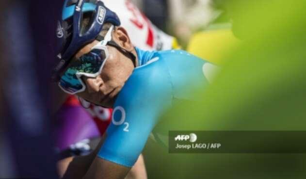 Nairo Quintana en la Vuelta a Cataluña