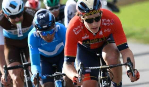 Nairo Quintana es sexto en la general de la París Niza