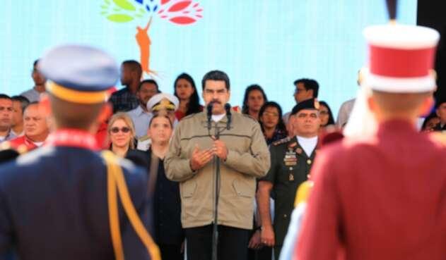 Nicolás Maduro, dictador venezolano, en Caracas