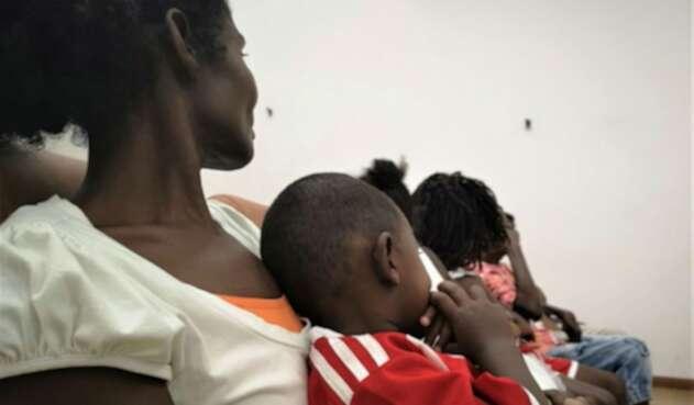 La comunidad está en medio del confinamiento por combates en Chocó.