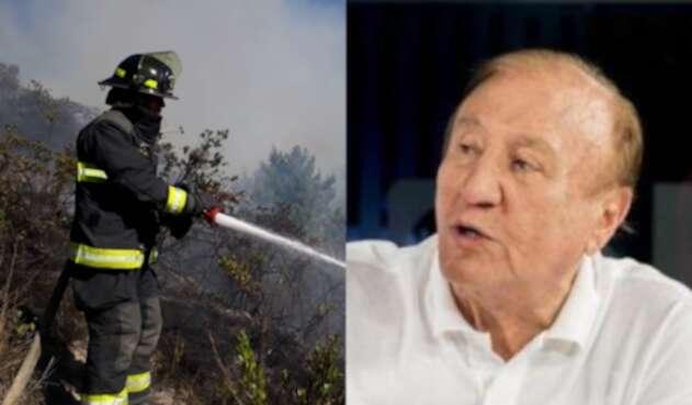 No cesa la polémica entre los bomberos y Rodolfo Hernández