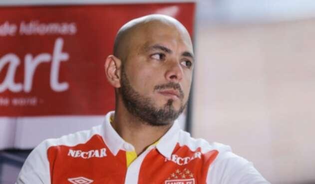 Omar Pérez en Independiente Santa Fe