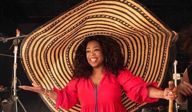 Oprah Winfrey lució artesanías colombianas
