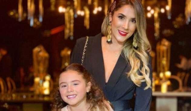 La expareja de James Rodríguez respondió a quienes viven preocupados por el estudio de su hija.
