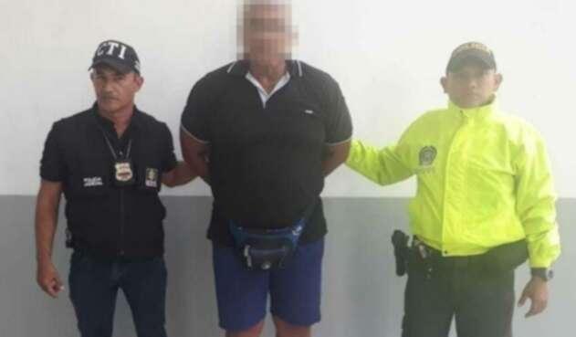 Pedro Julio Echeverría, instructor de pesas capturado