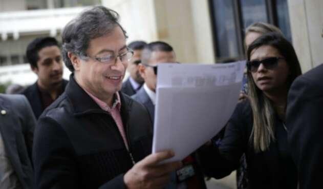 Gustavo Petro, ex alcalde de Bogotá