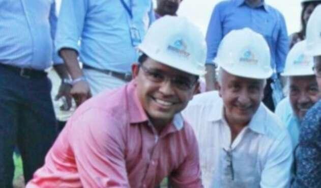 Rafael Martínez, alcalde de Santa Marta