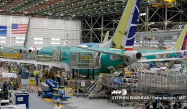 La sede en Renton del Boeing 737 Max