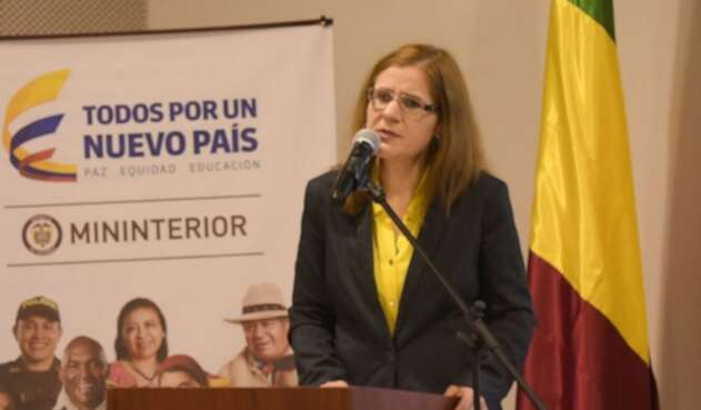 Sandra Devia fue viceministra del Interior para las Relaciones Políticas.