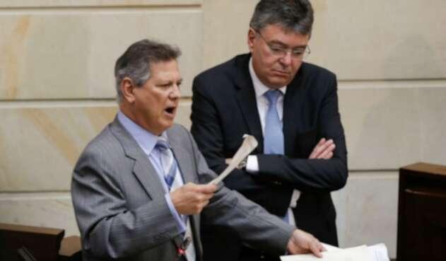 Senador Antonio Guerra de la Espriella en el Congreso