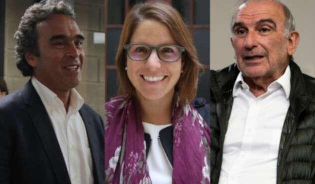 Sergio Fajardo y Humberto De la Calle defienden a Juanita Goebertus