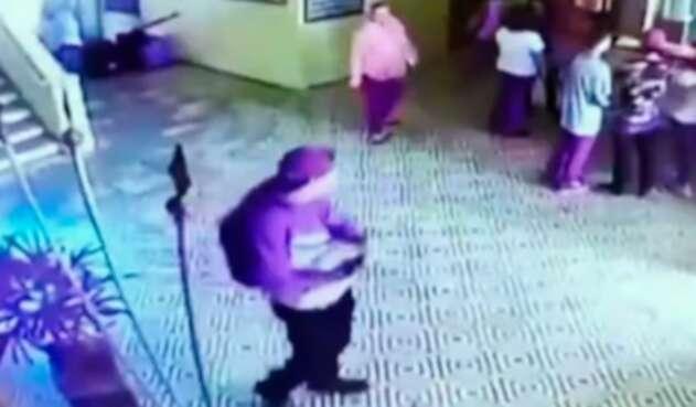Imágenes del tiroteo en Sao Paulo