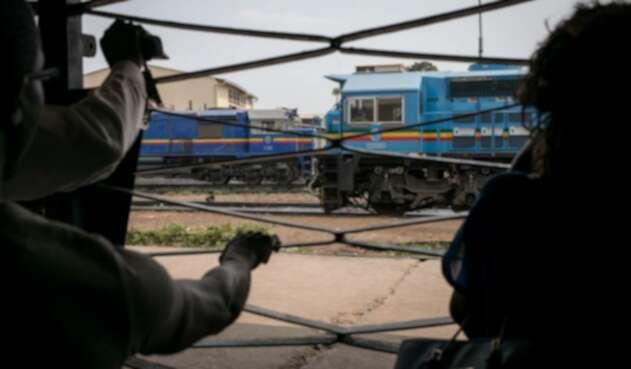 Tren de carga se descarriló en el Congo