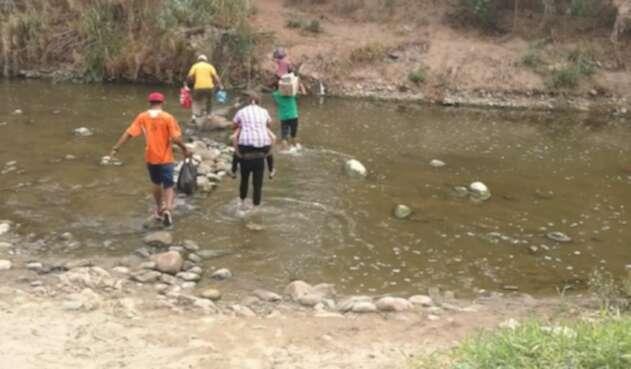 Trochas de la Frontera entre Colombia y Venezuela