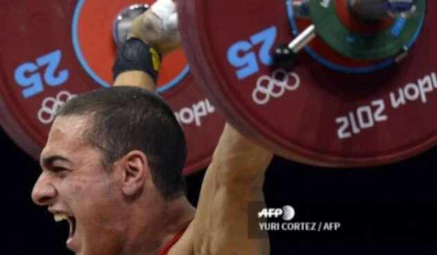 Valentin Hristov fue medalla de bronce en los Juegos de Londres 2012