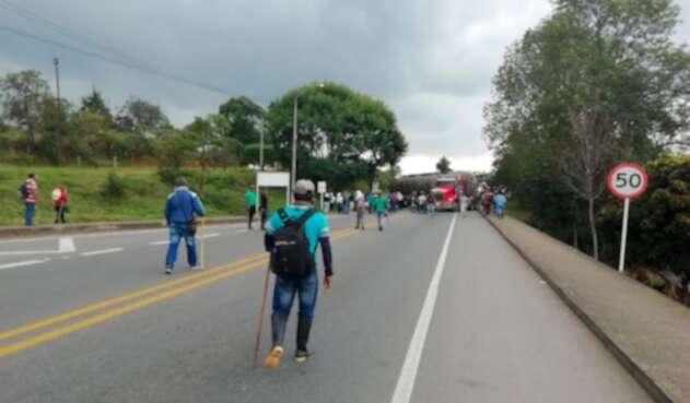 La Vía Panamericana, bloqueada por comunidades indígenas