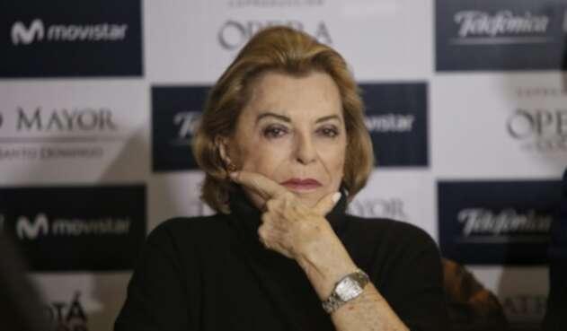 Gloria Zea, filósofa y reconocida gestora cultural, fallecida el 11 de marzo de 2019