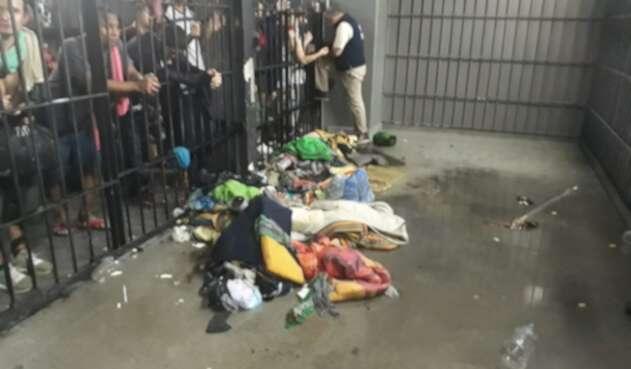 Disturbios en calabozo de estación de policía de Itagüí, Antioquia, dejan 14 personas lesionadas