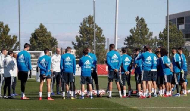 Zidane y su primer entrenamiento con el Real Madrid