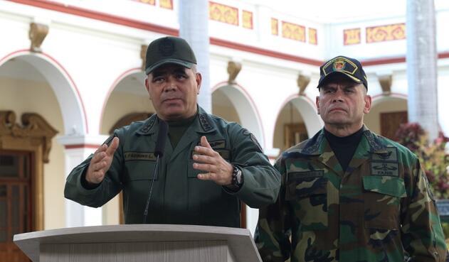 Vladimir Padrino en una declaración