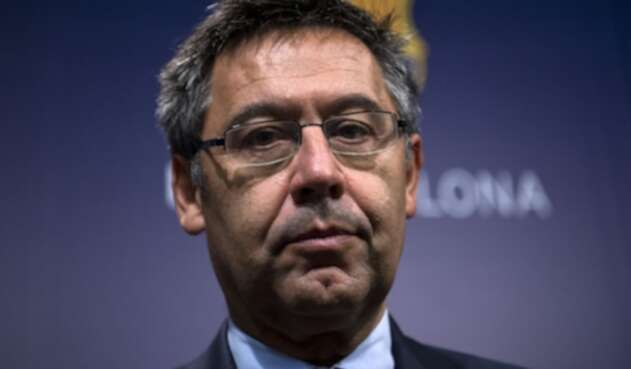 Josep Maria Bartomeu, presidente de FC Barcelona